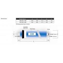 Membrana Re2012 - 400 GPD